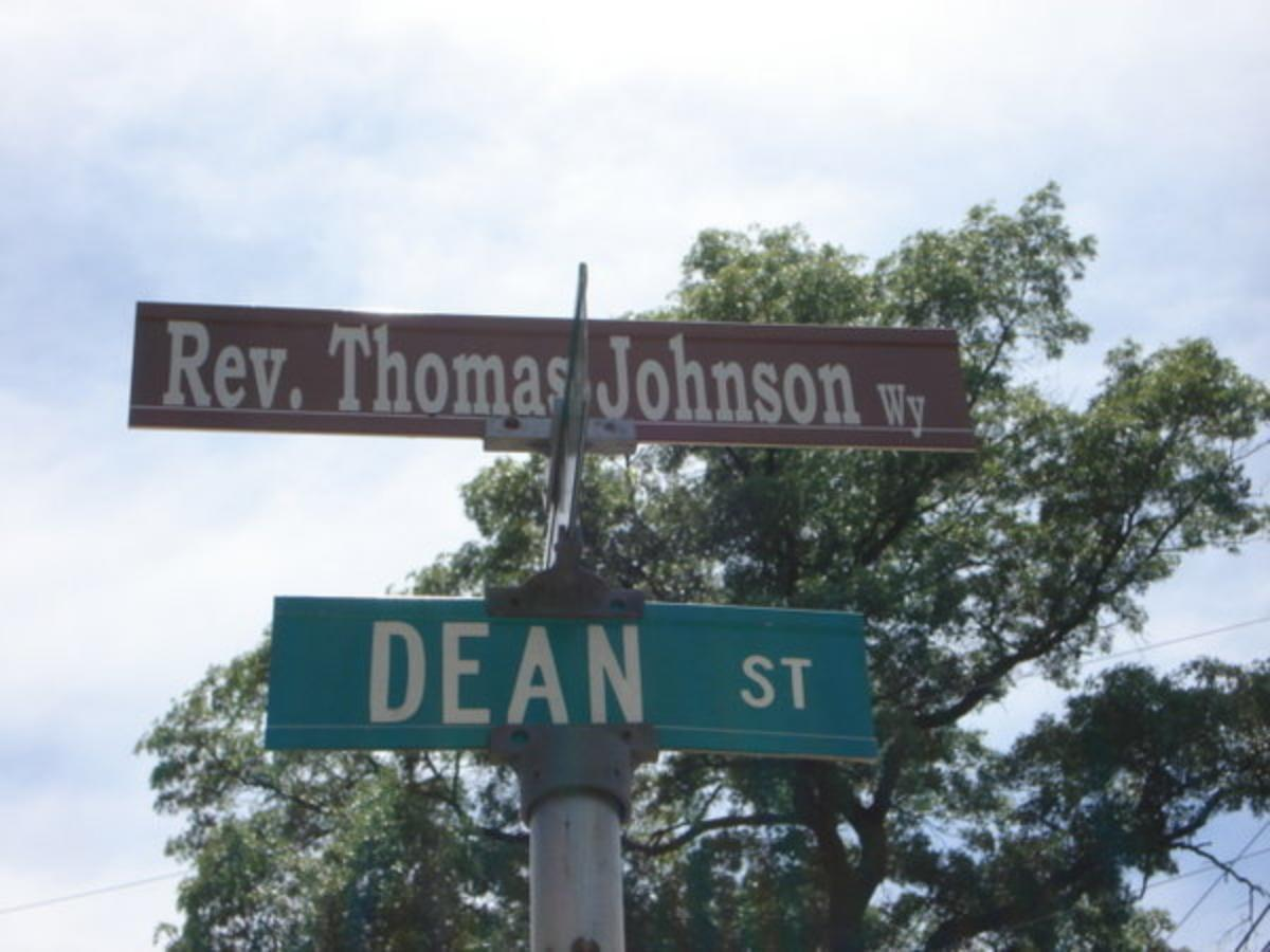 Street Sign--Mount Bethel Baptist Church